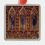 The Pala d'Oro, detail depicting three apostles Christmas Ornament