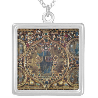 The Pala d'Oro, detail of Christ in Majesty with Square Pendant Necklace