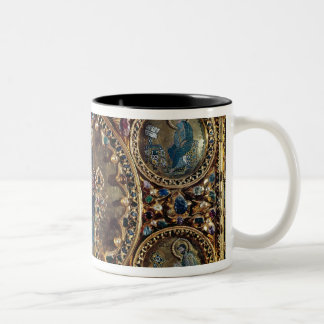 The Pala d'Oro, detail of Christ in Majesty with Two-Tone Coffee Mug