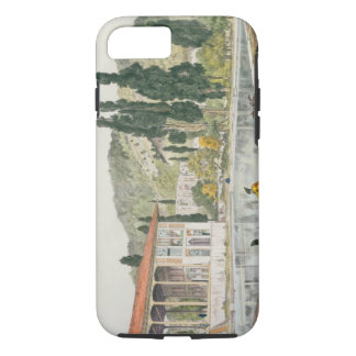The Palace and Gardens of Ashref, Persia, plate 80 iPhone 8/7 Case