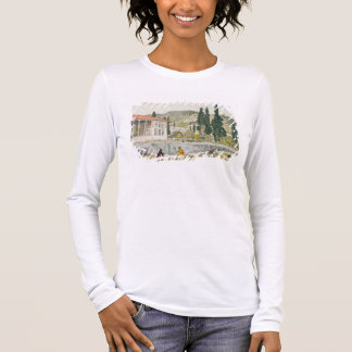 The Palace and Gardens of Ashref, Persia, plate 80 Long Sleeve T-Shirt