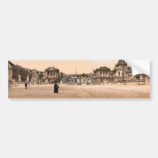 The palace, exterior, Versailles, France classic P Car Bumper Sticker