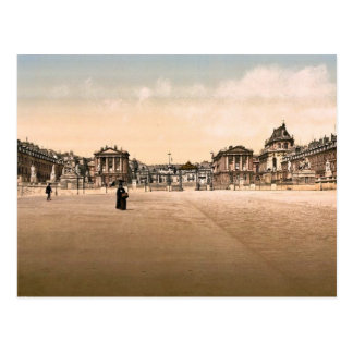 The palace, exterior, Versailles, France classic P Postcard