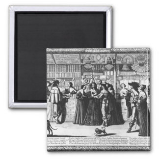 The Palace Gallery, engraved by Le Blond Magnet
