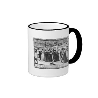 The Palace Gallery, engraved by Le Blond Ringer Coffee Mug
