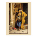 The Palace Guard by Ludwig Deutsch Postcard