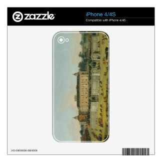 The Palace of Aranjuez, 1756 (oil on canvas) Decals For iPhone 4
