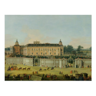 The Palace of Aranjuez, 1756 (oil on canvas) Postcard