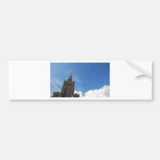 The Palace of Culture and Science Bumper Sticker