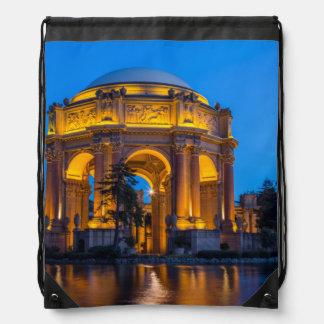 The Palace Of Fine Arts At Dawn Drawstring Bag
