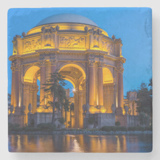 The Palace Of Fine Arts At Dawn Stone Coaster
