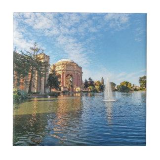 The Palace of Fine Arts California Ceramic Tile