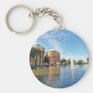 The Palace of Fine Arts California Keychain
