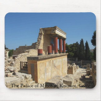 The Palace of Minos at Knossos, Crete,  GREECE Mousepads