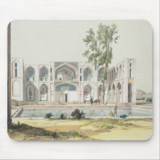The Palace of Tchar-Bag at Isfahan, Persia, plate Mouse Pad