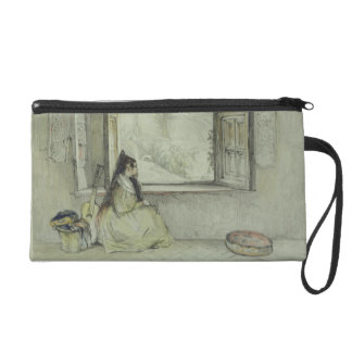 The Palace of the Generalife, from the Casa de Cha Wristlet Purse