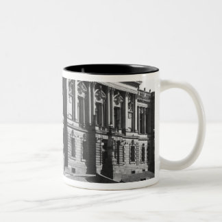 The Palace of the regional delegation Two-Tone Coffee Mug