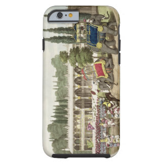 The Palace of Tippoo Sahib (1749-99) engraved by T Tough iPhone 6 Case