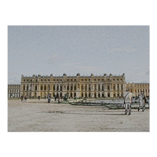 The Palace of Versailles Poster