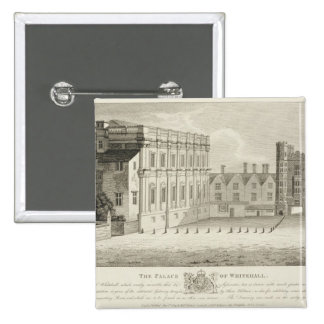 The Palace of Whitehall from a drawing in the Pep Pins