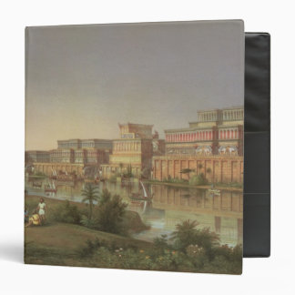 The Palaces of Nimrud Restored, a reconstruction o Binder