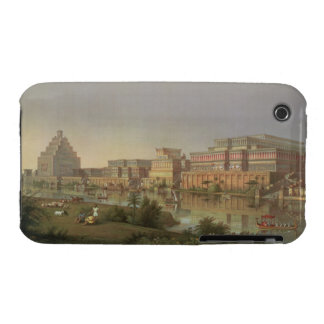 The Palaces of Nimrud Restored, a reconstruction o iPhone 3 Case-Mate Case