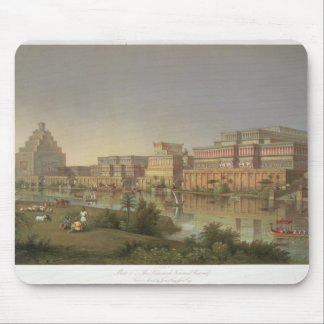 The Palaces of Nimrud Restored, a reconstruction o Mouse Pad