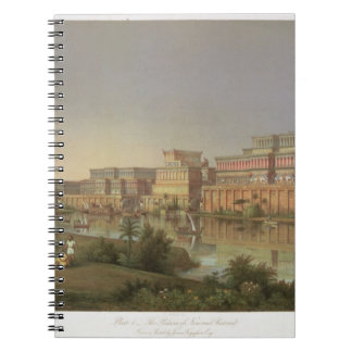 The Palaces of Nimrud Restored, a reconstruction o Note Book