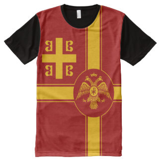 The Palaiologos Dynasty of the Byzantine Empire All-Over-Print T-Shirt