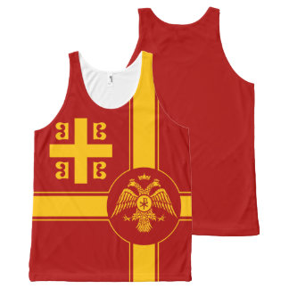 The Palaiologos Dynasty of the Byzantine Empire All-Over Print Tank Top