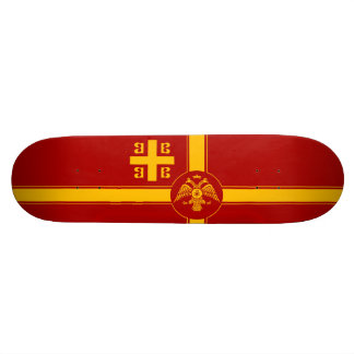 The Palaiologos Dynasty of the Byzantine Empire Skateboard Deck