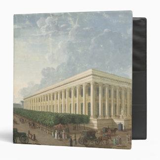 The Palais de la Bourse 3 Ring Binder