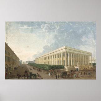 The Palais de la Bourse Poster