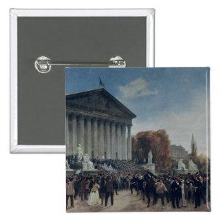 The Palais du Corps Legislatif Pinback Button