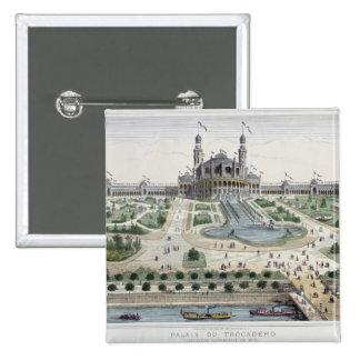 The Palais du Trocadero Button