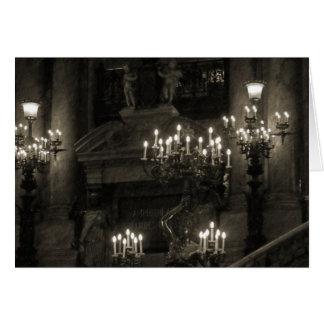 The Palais Garnier Paris France Card