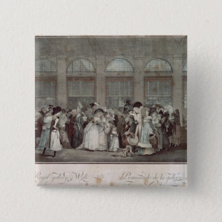 The Palais Royal Gallery's Walk, 1787 Button