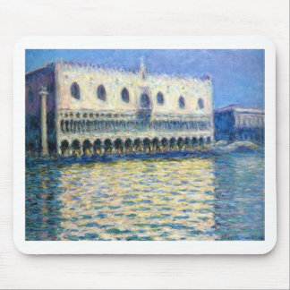 The Palazzo Ducale by Claude Monet Mouse Pad