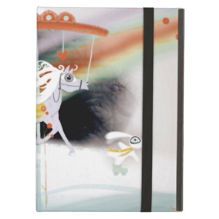 The Pale Carousel Rainbow iPad Air Cover