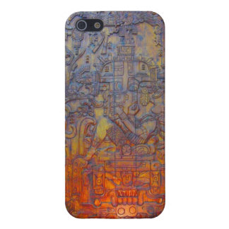 The Palenque Astronaut! Cover For iPhone SE/5/5s