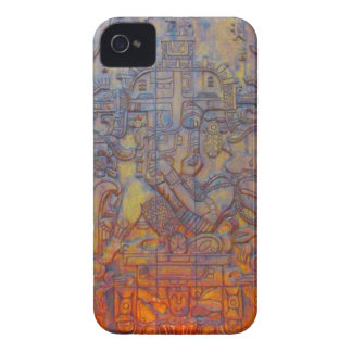 The Palenque Astronaut! iPhone 4 Case
