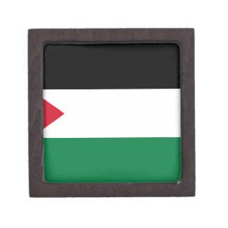 The Palestinian flag (علم فلسطين) Jewelry Box