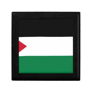 The Palestinian flag (علم فلسطين) Keepsake Box