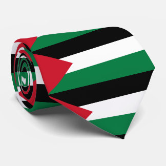 The Palestinian flag (علم فلسطين‎) Neck Tie