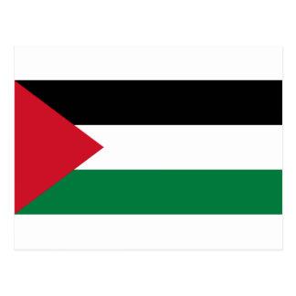 The Palestinian flag (علم فلسطين) Postcard