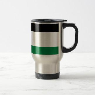 The Palestinian flag (علم فلسطين) Travel Mug