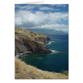 The Pali, Maui, Hawaii Greeting Card