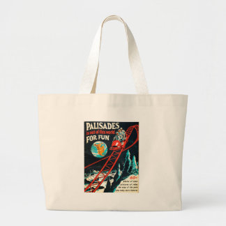 The Palisades vintage poster Bags