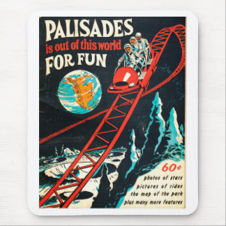 The Palisades vintage poster Mouse Pad
