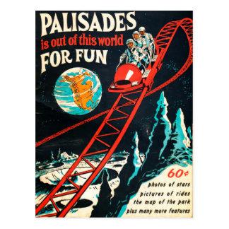 The Palisades vintage poster Postcard